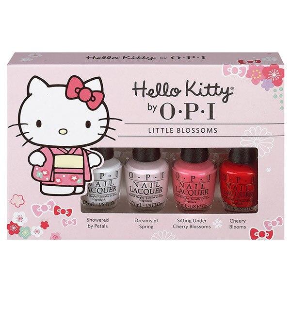 【アットコスメストア オンライン/@cosme store online】 Hello Kitty by OPI Cherry Blossom Mini Pack [送料無料]