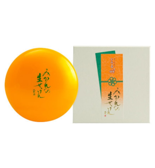 【アットコスメショッピング/@cosme SHOPPING】 美香柑 みかんの生せっけん (120g)