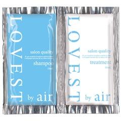 【アットコスメストア オンライン/@cosme store online】 LOVEST by airサロンクオリティーヘアケア ルミエールブルー シャンプー/トリートメント トライアル [3000円(税込)以上で送料無料]