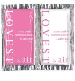 【アットコスメストア オンライン/@cosme store online】 LOVEST by airサロンクオリティーヘアケア フェアリーピンク シャンプー/トリートメント トライアル [3000円(税込)以上で送料無料]