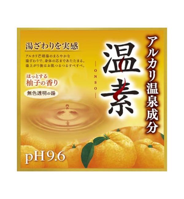 【アットコスメショッピング/@cosme SHOPPING】 温素 温素 柚子の香り (15包)