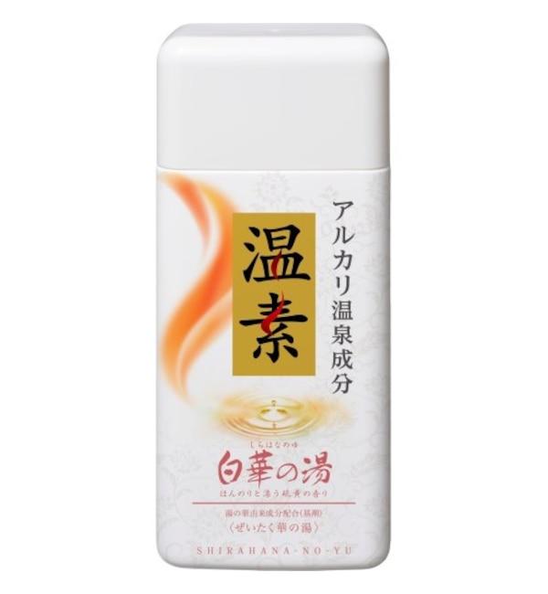 【アットコスメショッピング/@cosme SHOPPING】 温素 温素 白華の湯 (600g)