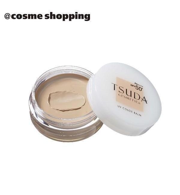 メンズファッションなら 【アットコスメショッピング/@cosme SHOPPING】 TSUDA SETSUKO UVカラーバーム ナチュラルピンク 本体/無香料 (18g)