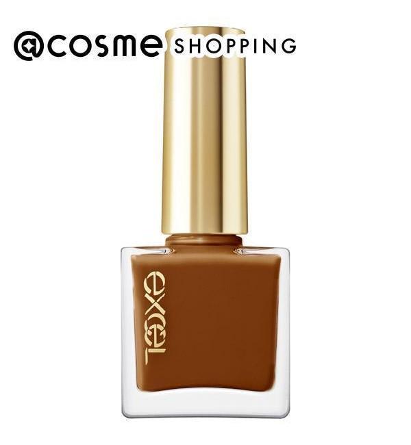 【アットコスメショッピング/@cosme SHOPPING】 エクセル ネイルポリッシュ N NL30 プラリネキス (10ml)