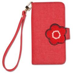 【マリークヮント/MARY QUANT】 デイジーサガラ刺繍 モバイルケース for iPhone7 [送料無料]