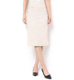 【ライチ/ライチ】 neigh 立体ストライプタイトスカート [3000円(税込)以上で送料無料]