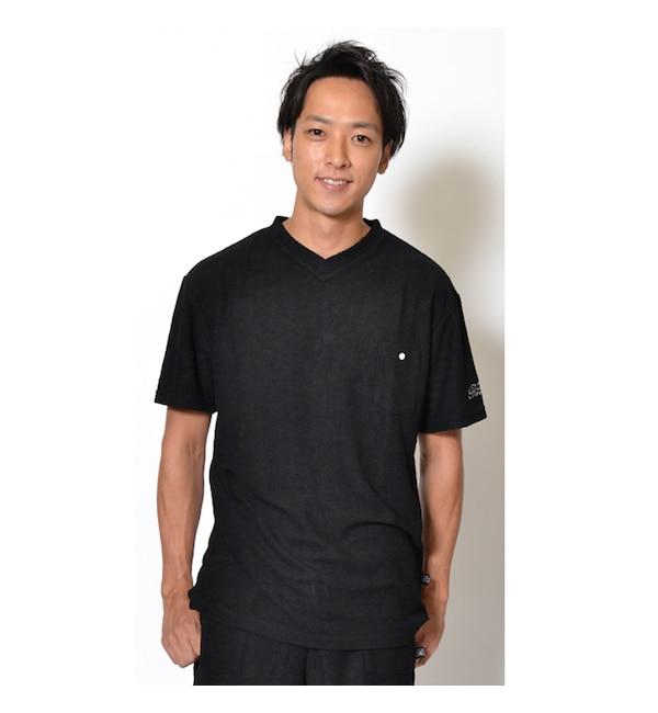 【カンゴール リワード/KANGOL REWARD】 KANGOL REWARD パイルVネックTシャツ