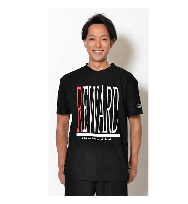 【カンゴール リワード/KANGOL REWARD】 KANGOL REWARD プリントパイルクルーネックTシャツ