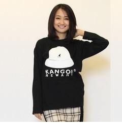 【カンゴール リワード/KANGOL REWARD】 バケットハットプリント長袖Tシャツ [送料無料]