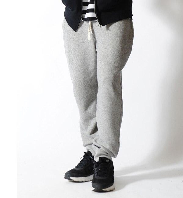 メンズファッションオススメ|【カンゴール リワード/KANGOL REWARD】 ワンポイントロゴスリムジョグパンツ