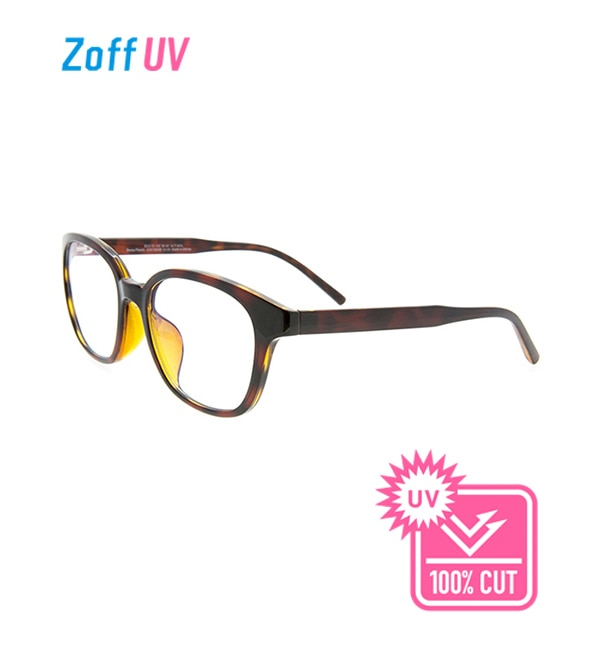【ゾフ/Zoff】 Zoff UV CLEAR SUNGLASSES (UV100%カット) ウェリントン クリアサングラス