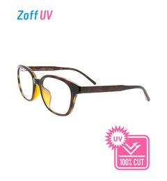 【ゾフ/Zoff】 Zoff UV CLEAR SUNGLASSES (UV100%カット) ウェリントン クリア サングラス [送料無料]