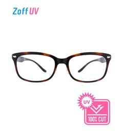 【ゾフ/Zoff】 Zoff UV CLEAR SUNGLASSES (UV100%カット) クリア レンズ ウェリントン サングラス [送料無料]