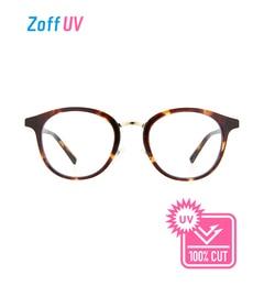【ゾフ/Zoff】 Zoff UV CLEAR SUNGLASSES (UV100%カット) クリア レンズ ボストン サングラス [送料無料]