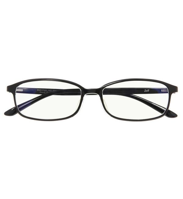 【ゾフ/Zoff】 スクエア型 PCメガネ|Zoff PC REGULAR TYPE(ブルーライトカット率約35%)