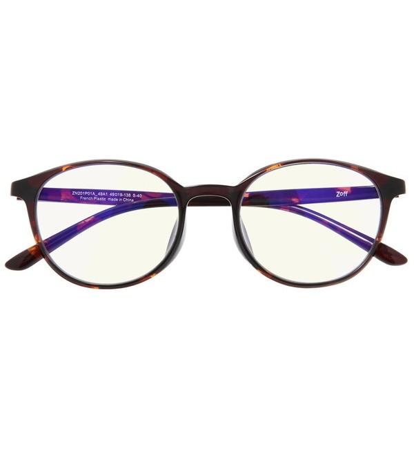 【ゾフ/Zoff】 ボストン型 PCメガネ|Zoff PC ULTRA TYPE(ブルーライトカット率約50%)