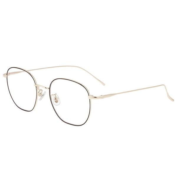 人気メンズファッション 【ゾフ/Zoff】 ウェリントン型 クリアレンズサングラス Zoff UV CLEAR SUNGLASSES (UV100%カット)