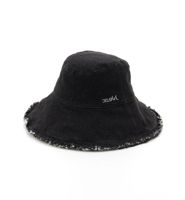 【エックスガール/X-girl】 DENIM BUCKET HAT