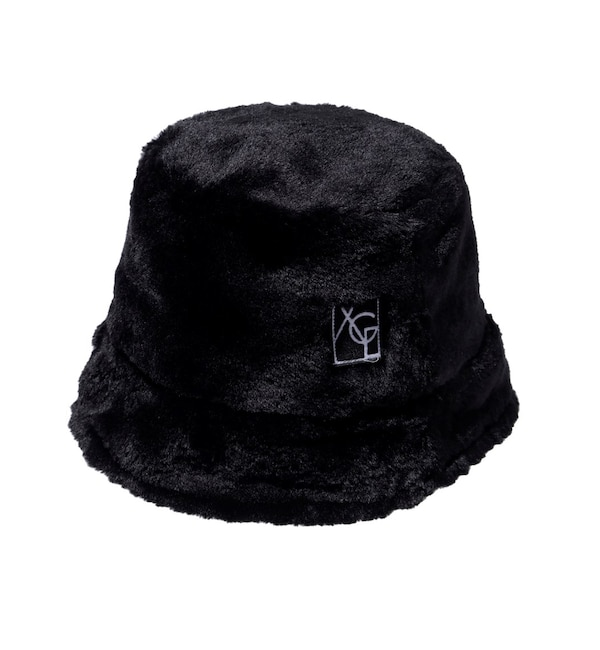 【エックスガール/X-girl】 FAUX FUR BUCKET HAT