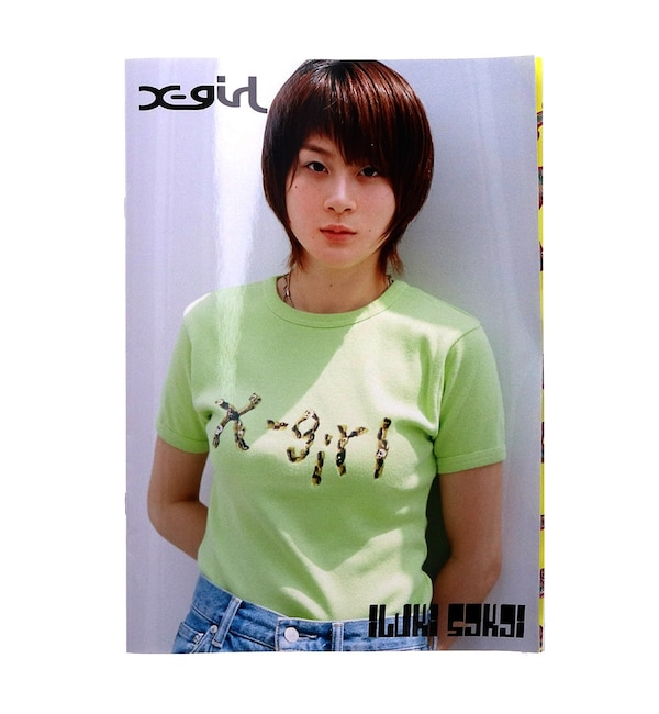 【エックスガール/X-girl】 X-girl × IBUKI ZINE