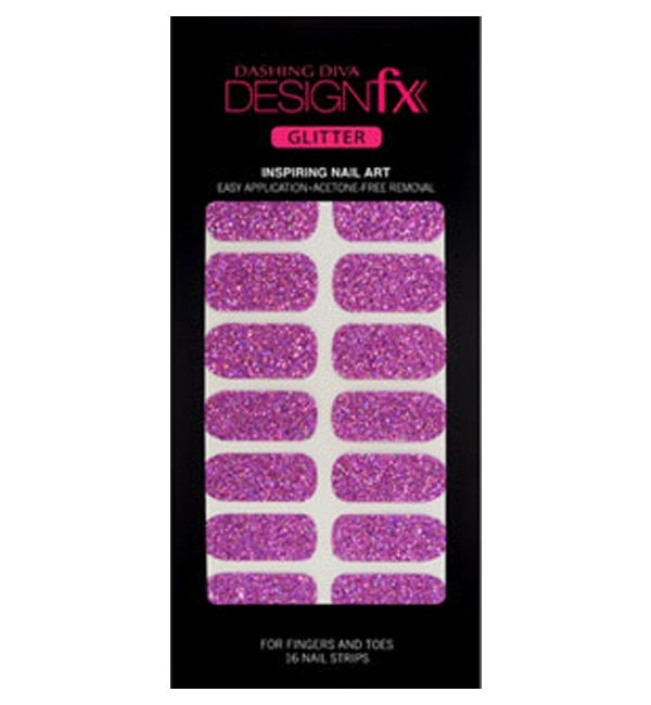 【ダッシングディバ/DASHING DIVA】 デザインフィックス グリッター Fantasy Sparkling 16枚(8サイズ)