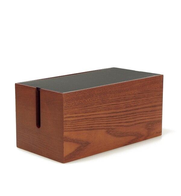 【アーノット/arenot】 オルガン コードボックス ミニ ダークブラウン × ブラック(ORGAN CORD BOX mini dark brown × black) [送料無料]