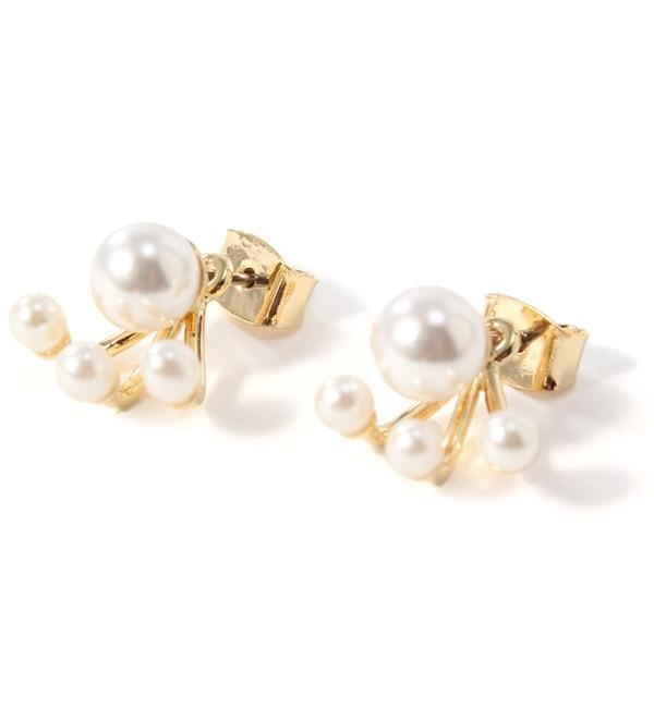 【アーノット/arenot】 パール キャッチピアス プチパール ゴールド(PEARL CATCH PIERCE petit pearl gold) [3000円(税込)以上で送料無料]