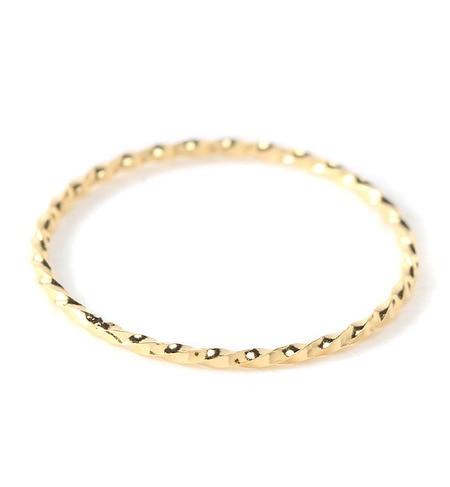 【アーノット/arenot】 ロープ スリム ピンキーリング(ROPE SLIM PINKY RING) [3000円(税込)以上で送料無料]