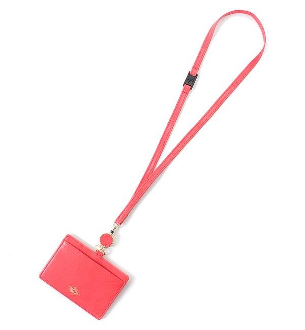 ネルス IDケース ピンク(NERTH ID CASE pink)【アーノット/arenot レディス 名刺入れ・カードケース ピンク ルミネ LUMINE】