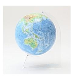 【ザ・スタディールーム/THE STUDY ROOM】 【渡辺教具製作所】地球儀 卓上クリアーWF [送料無料]