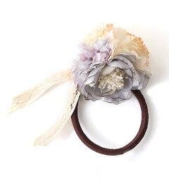 【エムスール/m.soeur】 小さなお花のヘアゴム [送料無料]