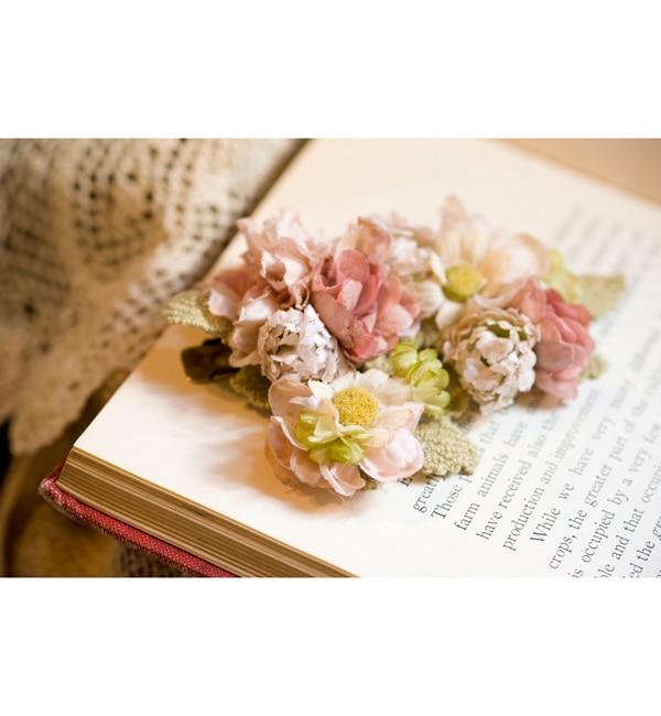 【エムスール/m.soeur】 サクラとカモミールのクリップ(大) [送料無料]