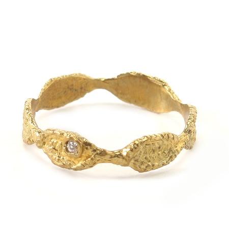 【エムスール/m.soeur】 小さなダイヤのレースリング* [送料無料]