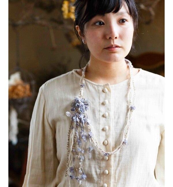 【エムスール/m.soeur】 小花ネックレス
