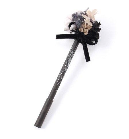【エムスール/m.soeur】 お花とリボンのブーケボールペン [3000円(税込)以上で送料無料]