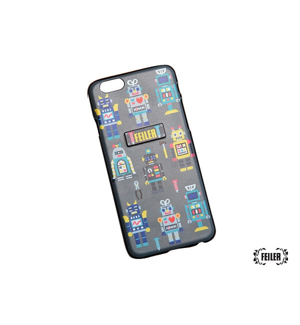 【ラブラリー バイ フェイラー/LOVERARY BY FEILER】 トイロボット iPhoneケース(6/6S対応) (L/ATOR-153217) [送料無料]