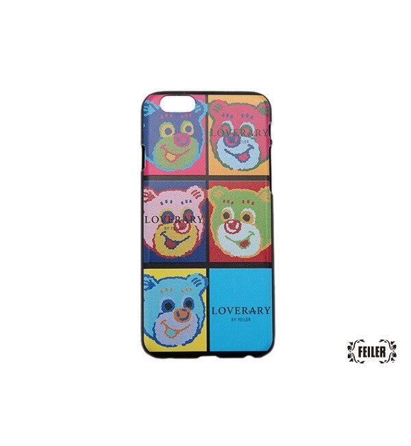 【ラブラリー バイ フェイラー/LOVERARY BY FEILER】 ポップアートテディ iPhoneケース(6/6S対応) (L/AOTE-163002) [送料無料]