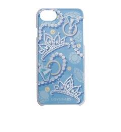【ラブラリー バイ フェイラー/LOVERARY BY FEILER】 サムシングブルー iPhoneケース (7対応) ペールブルー (L/ASMB-173032) [送料無料]