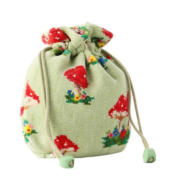 【フェイラー/FEILER】 マッシュルームフォレスト 巾着 MUF-186011(取扱店舗限定)