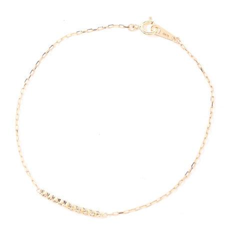 【ミロア/miroir】 K10 ダイヤブレスレット [送料無料]