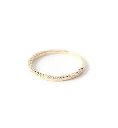 【ミロア/miroir】 K10世界最小ダイヤリング [送料無料]