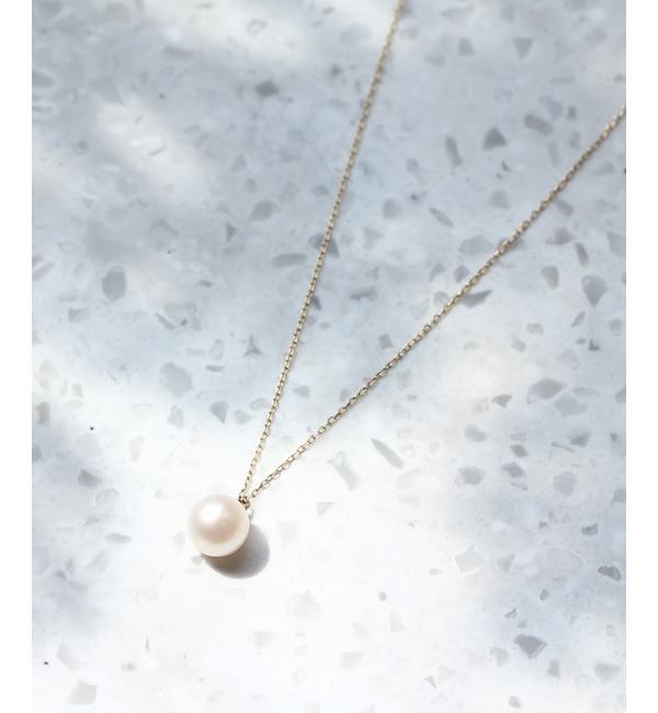 【ジュピター/JUPITER】 【WEB限定】drop pearlネックレス