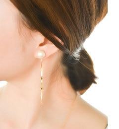 【フィービィー/phoebe】 フェミニンモードバックキャッチマグネットピアス ゴールド [送料無料]