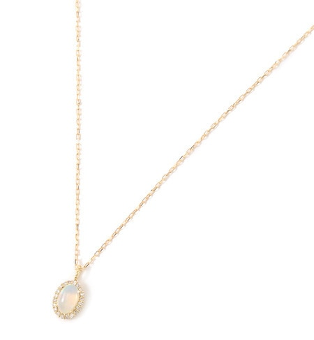 【キュイキュイ/cui?cui】 2016 christmas collection Opal l& Diamond ネックレス【限定BOX付】 [送料無料]