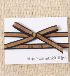 【ワームス/warmth】 リボンゴムブレス [3000円(税込)以上で送料無料]