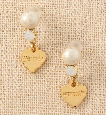 【ワームス/warmth】 cotton pearl☆bijou warmthピアス [送料無料]