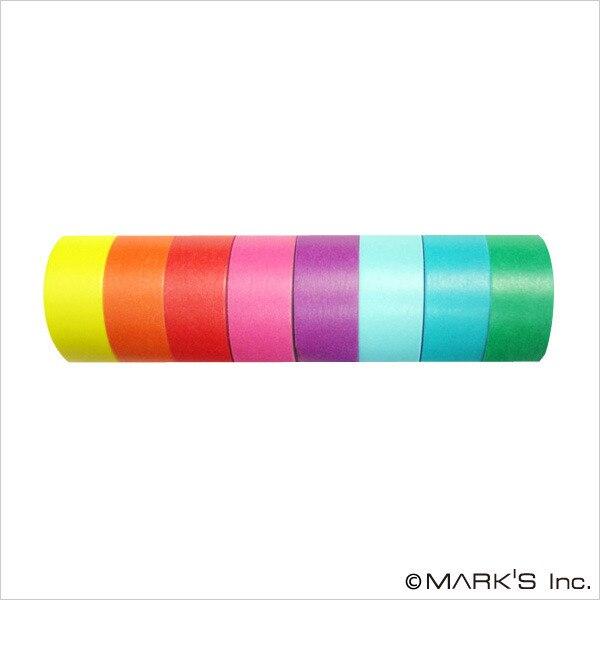 【エディト・トロワ・シス・サンク/EDITO 365】 マスキングテープ 8巻セット(COLORFULLY COLORFUL) / maste [3000円(税込)以上で送料無料]
