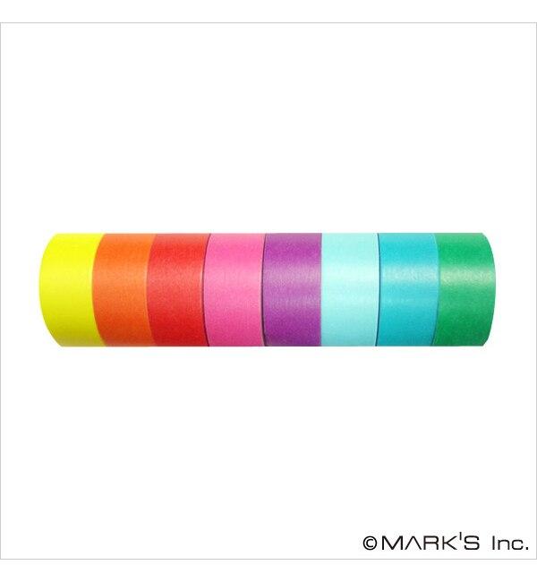 【エディト・トロワ・シス・サンク/EDITO 365】 マスキングテープ 8巻セット(COLORFULLY COLORFUL) /「maste」