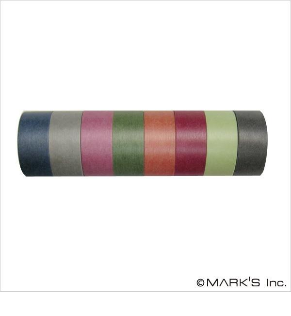 【エディト・トロワ・シス・サンク/EDITO 365】 マスキングテープ 8巻セット(カラーミックス・NOSTALGIC WARM) / maste [3000円(税込)以上で送料無料]
