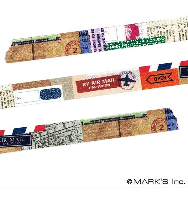 【エディト・トロワ・シス・サンク/EDITO 365】 マスキングテープ マルチ(スクラップデコ) / maste [3000円(税込)以上で送料無料]